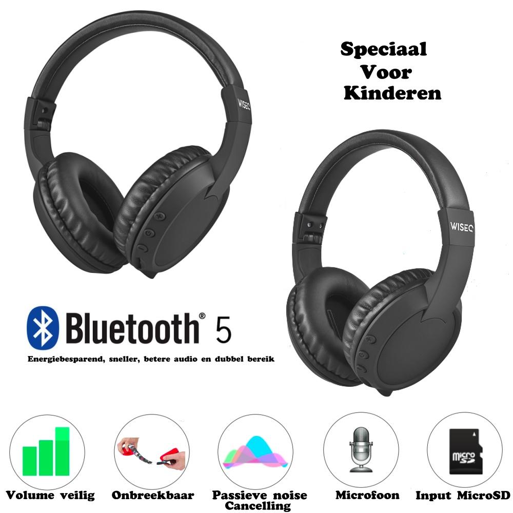 Wiseq bluetooth koptelefoon voor kinderen